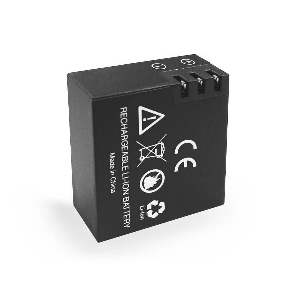 lithium ionen akku 900mah f r h5 h5 action kamera. Black Bedroom Furniture Sets. Home Design Ideas