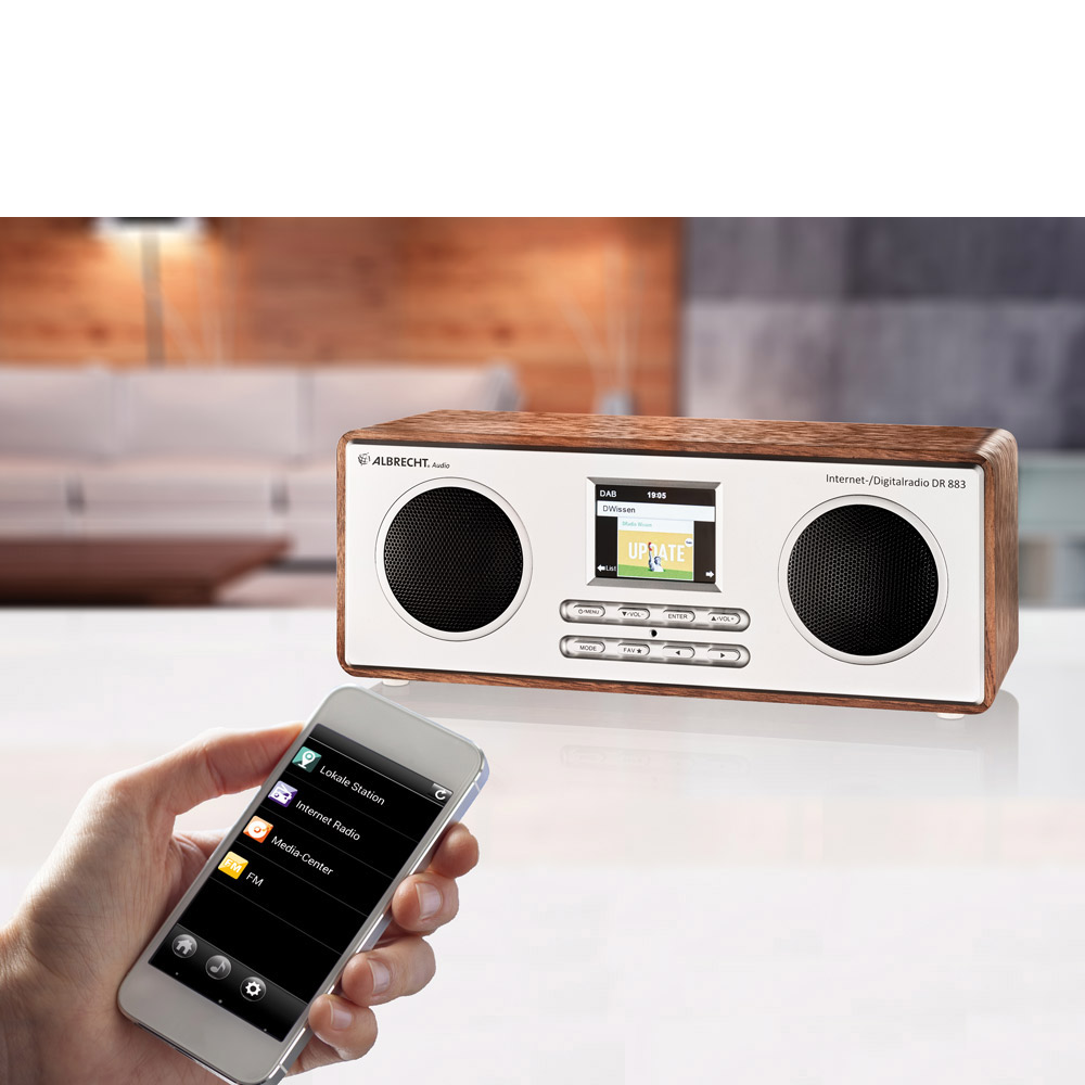Albrecht DR 883 Digitalradio Internet/DAB+/UKW/Bluetooth_4032661278838_ALBRECHT_#7