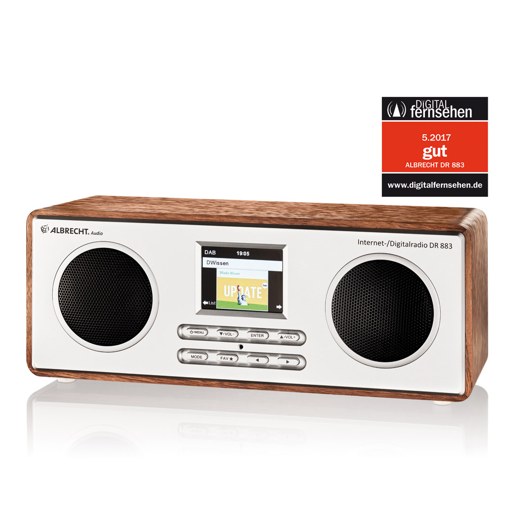Albrecht DR 883 Digitalradio Internet/DAB+/UKW/Bluetooth_4032661278838_ALBRECHT_#9
