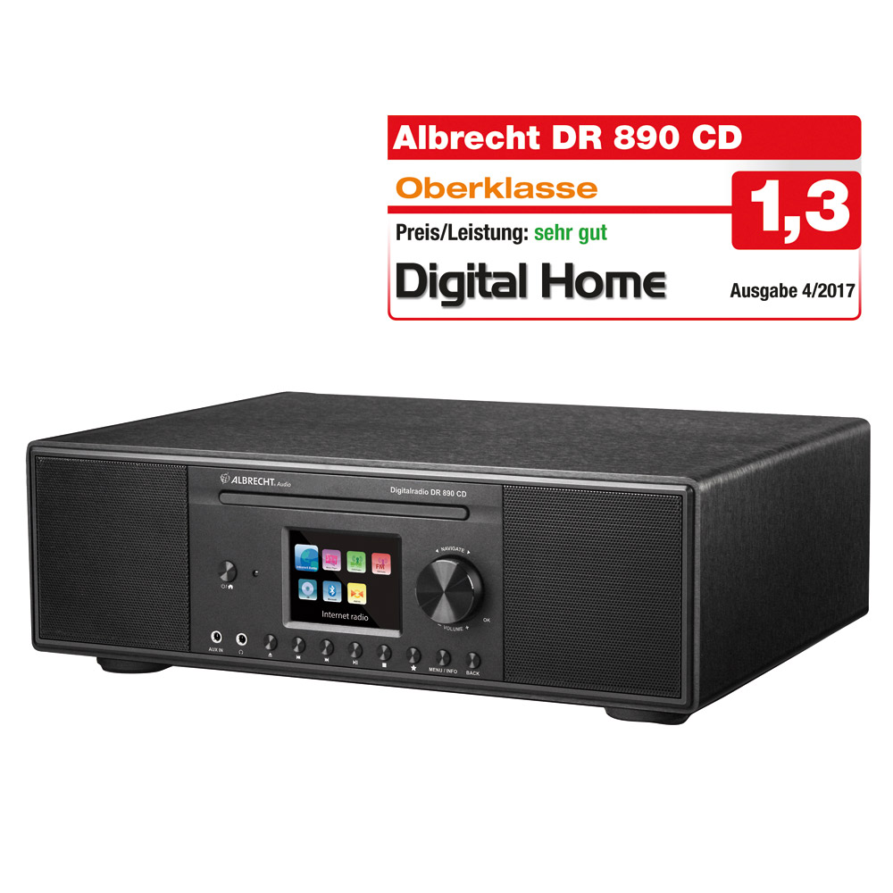 Albrecht DR 890 CD, DAB+/UKW/Internet-Radio/CD_4032661738912_ALBRECHT_#2