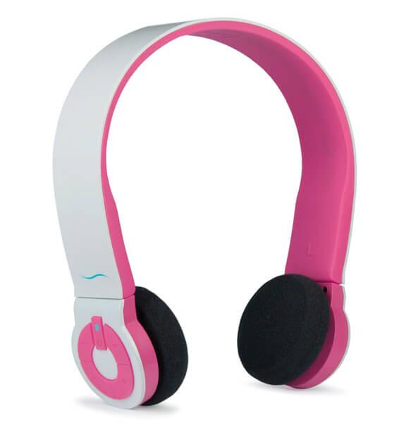 hi edo bluetooth headset wei rosa. Black Bedroom Furniture Sets. Home Design Ideas